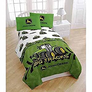 kid 39 s 11 pc bedroom ensemble john deere twin