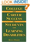College And Career Success For Students With Learning Disabilities