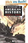 A Dictionary of American History (Bla...