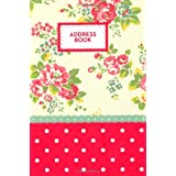 Cath Kidston A5 Address Book (Cath Kidston Stationery Collec)by Quadrille +