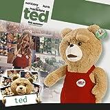 2012陽気なコメディ『ted』Teddy Bear テディベア ぬいぐるみ 50cm