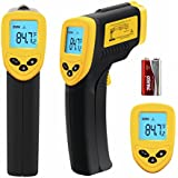 Etekcity Lasergrip 774 Non-contact Digital Laser IR Infrared Thermometer Temperature Gun, Yellow/Black