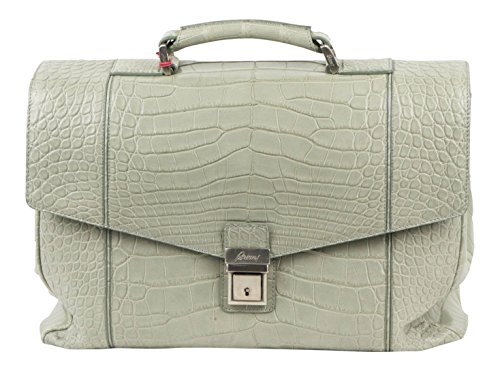 brioni-gray-crocodile-leather-briefcase-bag