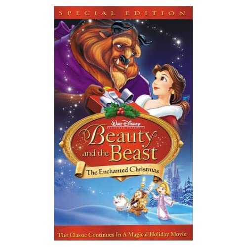 beauty and the beast the enchanted christmas beauty and
