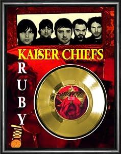 Amazon Com Kaiser Chiefs Ruby Gold Vinyl Record Framed