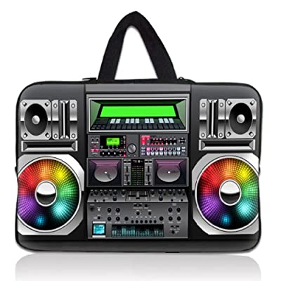 """Colorful tape Recorder 11.6"""" 12.1"""" inch Notebook Carrying bag Laptop Sleeve Case with Hide Handle for Samsung Chromebook/DELL Latitude E6230 XT2 XPS Duo/ASUS B23 /HP 4230S 2560P/TOSHIBA U920T/intel Letexo by ChaoDa"""