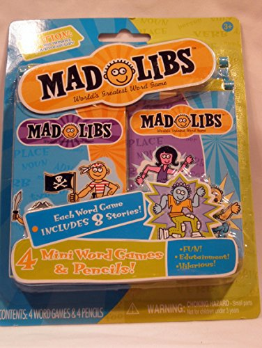 Mad Libs 4ct