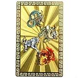 ハッピーボム Happy Bomb 青龍 朱雀 白虎 玄武 風水の神々 四神獣 黄金大開運カード