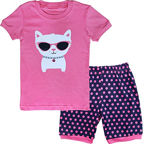 2eb3db23a7 BOOPH Girls Pajamas 2 Piece