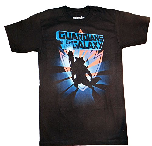 Guardians of the Galaxy Rocket Raccoon Shadow T-shirt