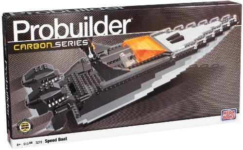 Mega Bloks Pro Builder Carbon Series Speed Boat