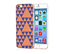 buy My Polaroid Iphone 6S Case Very Durable And Protective Hard Case For Iphone 6S (4.7) Apple Iphone 6S /6 (2015)(New)--Blue And Orange Triangle