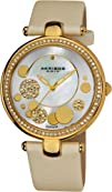 Akribos XXIV Womens AKR434WT Diamond Silver Sunray Diamond