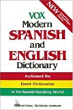 img - for Vox Modern Spanish and English Dictionary (Vinyl cover) (VOX Dictionary Series) book / textbook / text book