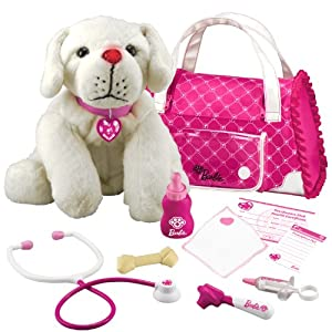 Barbie Hug 'n Heal Pet Dr Lab White