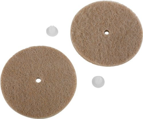 Koblenz Genuine Tan Cleaning And Polishing Pads Pack Of Two Pads And Two Retainers