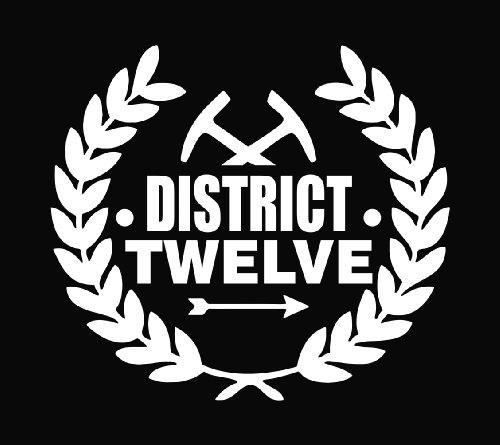 The Hunger Games District 12 Vinyl Decal Sticker 6