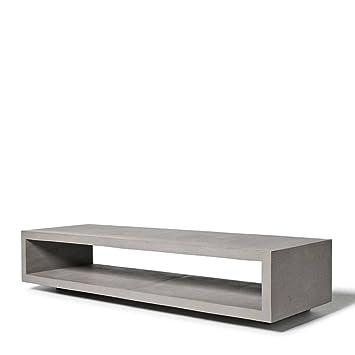 Mobile TV cemento monoblocco grigio
