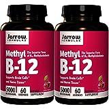 Jarrow Formulas Methyl B12, Methylcobalamin (60x 2)