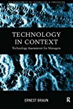 img - for Technology in Context: Technology Assessment for Managers (Routledge Studies in the Management of Technology and Innovation) book / textbook / text book