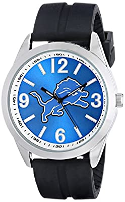 "Game Time Men's NFL-VAR-DET ""Varsity"" Watch - Detroit Lions"