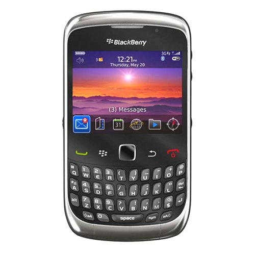 Blackberry Curve 3G 9300 Unlocked GSM SmartPhone with 2 MP Camera, Wi-Fi, GPS, Bluetooth - Unlocked Phone - International Warranty - Graphite Grey