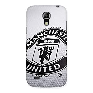 Delighted Grey MU Team Back Case Cover for Galaxy S4 Mini