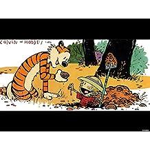 Posterhouzz Calvin & Hobbes Hobbes Calvin Frameless Fine Art Paper Print Poster