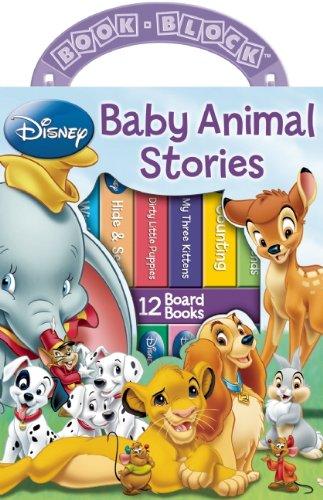 Disney: Baby Animal Stories 12 Book Block front-1003677
