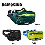 (パタゴニア) patagonia ボディーバッグ Patagonia Lightweight Travel Mini Hip Pack 1L ライトウェイト・トラベル・ミニ・ヒップ・パック 49446 BLK