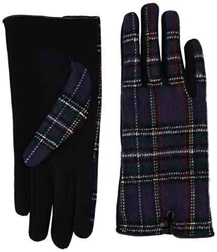 isotoner-damen-handschuhe-ladies-isotoner-thermal-tartan-glove-gr-one-size-herstellergrosse-one-size