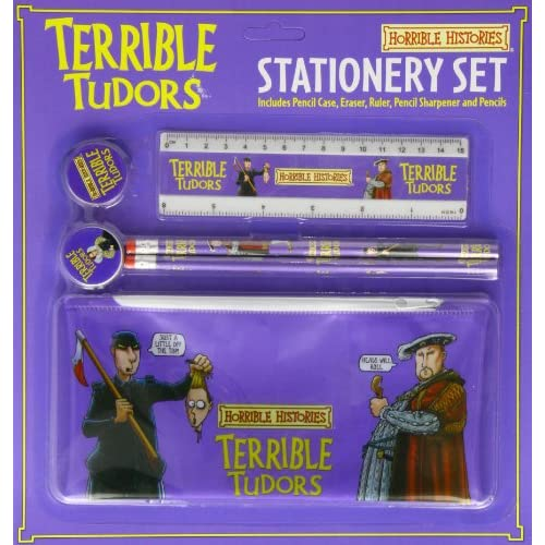 Terrible-Tudors-School-Kit-With-Pencil-C-Horrible-Histories-Stationery-Elgate