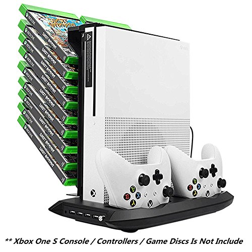 Xbox One S Vertical Stand Cooling Fan Controller