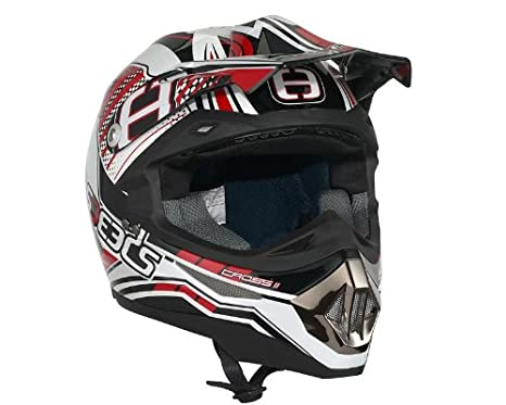 Casque Speeds Cross II Graphic rouge taille XXL