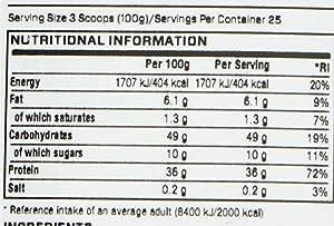 Myprotein Hard Gainer Extreme Chocolate Smooth, 1er Pack (1 x 2,5 kg) by Myprotein