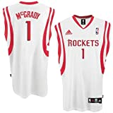 adidas Houston Rockets #1 Tracy McGrady White Home Swingman Jersey (XX-Large)