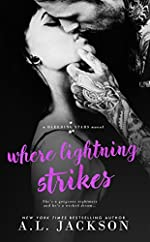 Where Lightning Strikes (A Bleeding Stars Stand-Alone Novel)