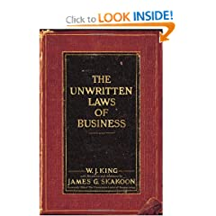 The Unwritten Laws of Business (9780385521260)