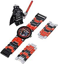 Comprar LEGO Star Wars Darth Vader 9002908 - Reloj de cuarzo para niños, correa de plástico, colores surtidos