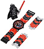 LEGO Kids 9002908 Star Wars Darth Vader Watch With Minifigure