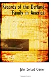 img - for Records of the Dorland Family in America book / textbook / text book