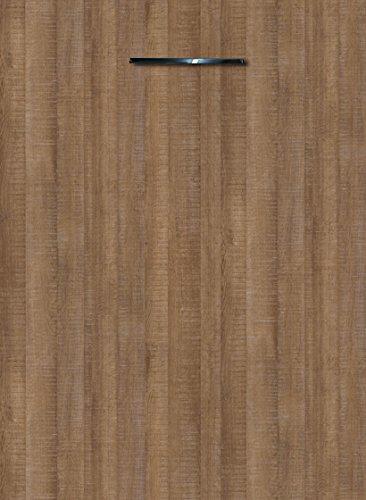Küchenschrank Unterschrank Front für Geschirrspüler FE (Breite 45cm-vollintegriert, 10 Authentic Oak braun)