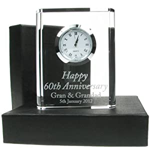 60th wedding anniversary gift engraved 60th wedding for 60th wedding anniversary gifts