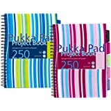 A4 Pukka Pad Project Book 250 Pages Assorted Colours