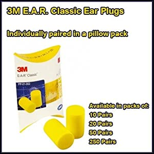 Ear plugs bulk individually wrapped