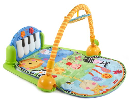 Fisher-Price Discover 'n Grow Kick and Play Piano Gym (746775040451)