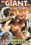 Giant of Metropolis / Hercules & The Princess of [DVD] [1961] [Region 1] [US Import] [NTSC]