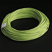 Double Taper Floating 100 FT 6 Weight Fly Fishing Line Fly Line--Olive Color