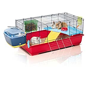Imac easy plus100 rabbit guinea pig cage for Simple guinea pig cage