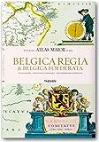 echange, troc Joan Blaeu, Peter Van Der Krogt - Belgica Regia & Belgica Foederata : Atlas maior of 1665 Les Pays-Bas et la Belgique, édition anglais-néerlandais-français
